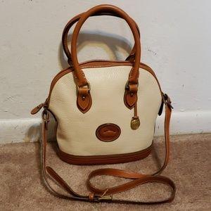 Vintage Dooney & Bourke Leather Satchel Handbag